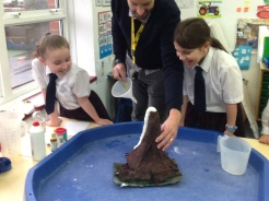 Some of our volcano eruptions this week.
